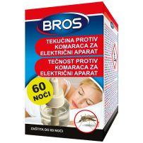 Bros tečnost protiv komaraca za električni aparat 60 noći, 40ml