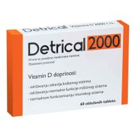 Detrical 2000, 60 tableta