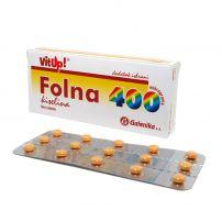 Folna kiselina   400 mikrograma     film tablete 30