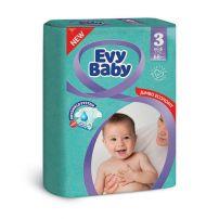 Evy baby pelene jumbo 3 midi 5-9kg - 68 kom.