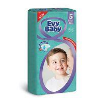 Evy baby pelene jumbo 5 junior 12-25kg, 48 kom.