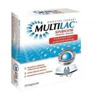 Multilac sinbiotik (probiotik plus prebiotik) 10 kapsula