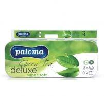 Paloma Deluxe Green Tea troslojni toaletni papir 10 komada
