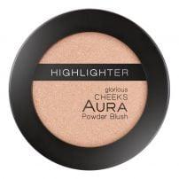Aura Glorious Cheeks kompkatni prah visokog sjaja 219 Golden Spice