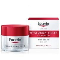 Eucerin Hyaluron-Filler + Volume-Lift Dnevna krema za suvu kožu SPF15