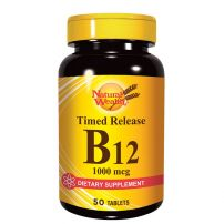 Natural Wealth Vitamin B-12 1000 mcg 50 tbl