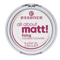 Essence All About Matt! Fixing Compact Powder puder u kamenu