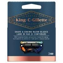 Gillette King C dopune za brijač za oblikovanje 3kom