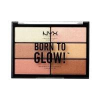 NYX Professional Makeup Paleta hajlajtera Born To Glow