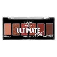 Nyx Professional Makeup Mini paleta senki za oči Ultimate Shadow Mini Palette 01-Warm Neutrals
