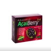 Acai Berry kapsule 400mg A60 + gratis ErvaVit Cink