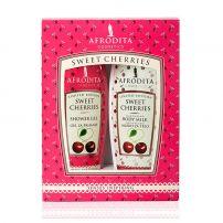 Afrodita Sweet cherries set (gel za tuširanje 200ml + losion za telo 200ml)