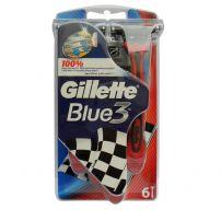 Gillette Blue 3 Speed brijači 6 komada