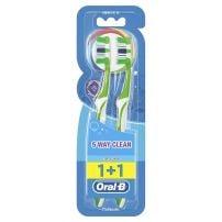 Oral B Complete 5 way četkica za zube srednja 1kom + 1 gratis