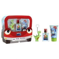 Disney My Dino Deciji Set (edt 50 ml + gel za tuširanje 100 ml + privezak za ključeve)