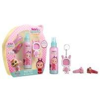 Disney Cry Babies Deciji Set (edt 150 ml + privezak za ključeve sa ramom za sliku + 2 šnale za kosu)