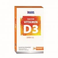 Vitamin D3 vit 2000IU Inulin cps A30