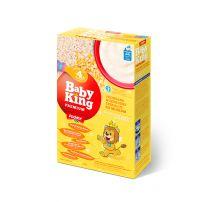 Baby King Premium Pirinčano-kukuruzne cerealije bez saharoze sa adaptiranim mlekom i prebioticima obogaćene vitaminima i mineralima