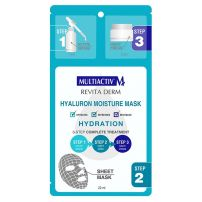 Multiactiv 3 koraka hijaluronska hidrantna maska za lice 22ml