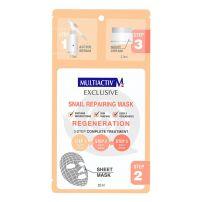 Multiactiv 3 koraka puževa sluz maska za lice 22ml