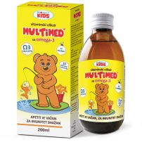 Multimed Omega 3 Vitaminski eliksir 200ml