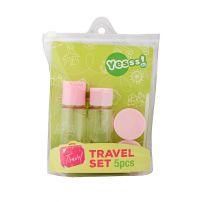 Yesss! 5 u 1 pink set za putovanja