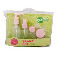 Yesss! 7 u 1 pink set za putovanja