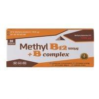 Methyl B12 1000mcg+ B complex kapsule A30