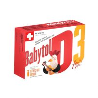Babytol D3 30 twist-off caps