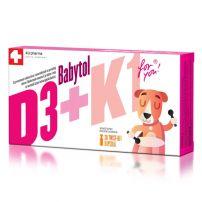 Babytol D3+K1  30 twist - off caps