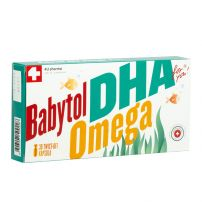 Babytol DHA Omega twist-off kapsule A30
