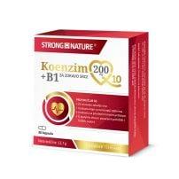 Koenzim Q10 200 mg + B1, 30 kapsula