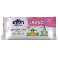 Fresh Junior vlažne maramice 15 komada