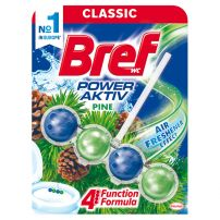 Bref Power Aktiv Pine 4 funkcije WC osveživač 51 gr