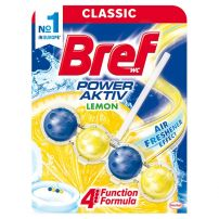 Bref Power Aktiv Lemon 4 funkcije WC osveživač 51  gr