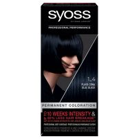 Syoss boja za kosu 1-4 Blue black