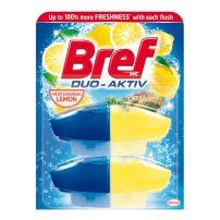 Bref Duo Aktive Lemon Freshness WC osveživač 2 x 50 ml
