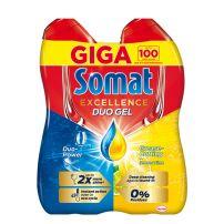 Somat gold gel duopack lemon 2x990ml