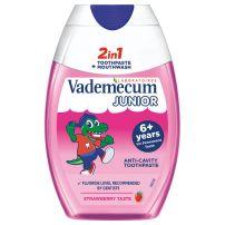 Vademecum dečija pasta za zube 2u1 Junior Strawberry 75ml