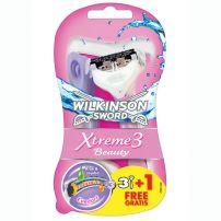 Wilkinson Xtreme 3 Beauty ženski brijač 3+1 gratis