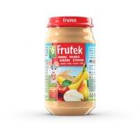 Frutek kašica od jabuke, kruške i banane sa pšeničnim i zobenim pahuljicama 120 gr