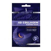 Afrodita 4D Collagen Sleeping maska za lice 2x6ml