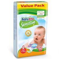 Babylino Sensitive pelene Value Pack Maxi 7-18kg 50kom