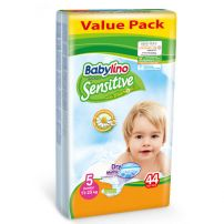 Babylino Sensitive pelene Value Pack Junior 11-25kg 44kom