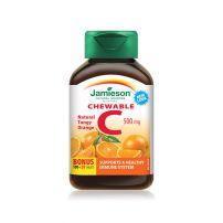 Jamieson vitamin C 500 za žvakanje pomorandža