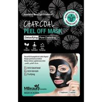 Mbeauty crna detox peel off maska za lice 3kom