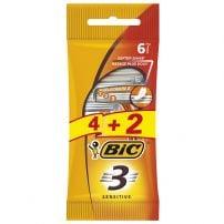 Bic 3 Sensitive 4kom + 2 gratis