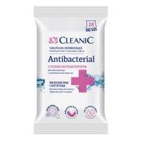 Cleanic vlažne maramice antibakterijske 24kom